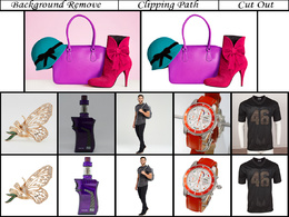 Background Remove/ Clipping Path/ Cut Out up to simple 50 Images