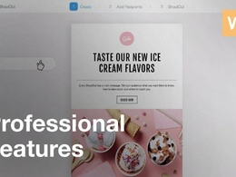 Do responsive HTML email template on mailchimp, wix, or Hubspot