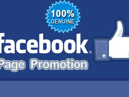 Promote your Facebook Page to 1000 People |Digital Marketing