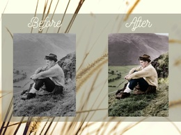 Colorize your old black and white photo