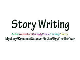 Write 5000 Words Ghost Writing Any Type of Story