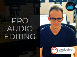 Clean up and edit your audio recordings