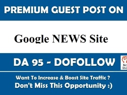 Google News Malaysia Guest Post on DA 39 DoFollow