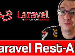Do one hour development of a RESTFUL API in Laravel