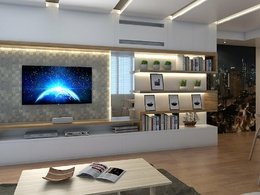 Provide (4) photo-realistic 3D architectural renderings