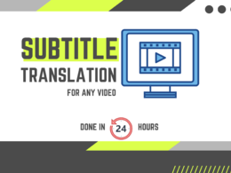 Transcribe and subtitle video up to 10 minutes