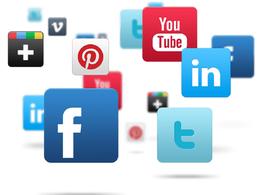 Social media account set-up