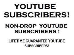 Guarantee 500+ Non-drop Youtube Subscribers to Your Channel