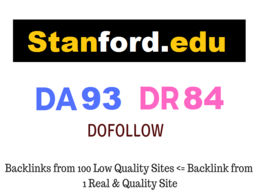 Publish EDU Guest Post on Stanford.edu DA 93 Dofollow Link