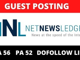 Guest Post on Google News Approved - NetNewsLedger.com DA 56