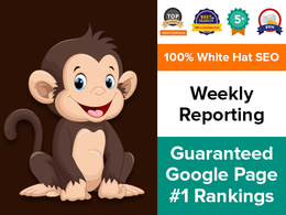 Offer White Hat, Organic SEO with Guaranteed Ranking