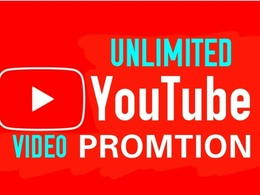 Boost your youtube video with 3000+ worldwide people
