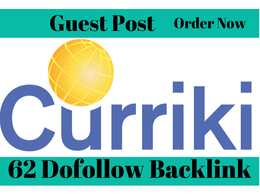 Place A Dofollow Guest Post On Curriki.org (DA 62)