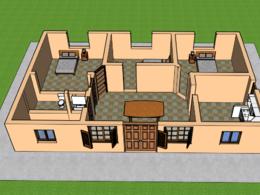Diseño 3D de tus planos de casas, departamentos, etc
