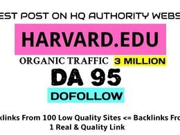 Write & Guest Post On My Harvard Edu University Blog harvard. e