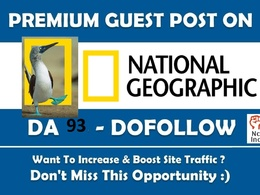 Google News Guest Post on Nationalgeographic org DA 83 Dofollow
