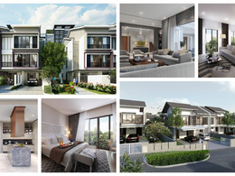Work on 3D architectural visualization