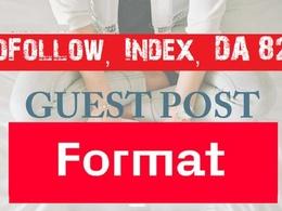 DoFollow Guest Post on Format.com DA 87