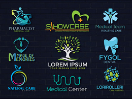 Do  medical, clinic and health care logo design for business