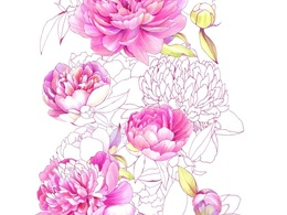 Draw a flower pattern for you