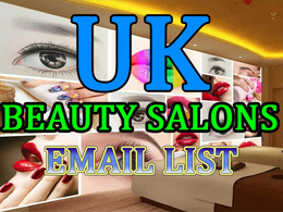 UK 5000 Beauty Salons Email Address Database List
