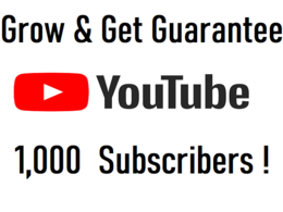 Promote your channel & GUARANTEE 1000 Subscribers!(Monetization)