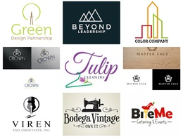 Logo Design +Creative Concepts+Unlimited revisions+Artwork