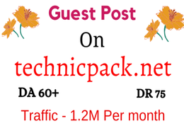 Do guest post on technicpack.net traffic 1.5M with dofollow link