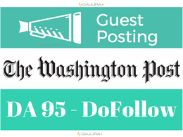Guest Post on WashingtonPost, WashingtonPost.com DA 95