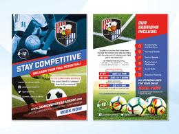 Design your flyer/leaflet