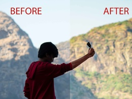 Professionally edit up to 5 photos.