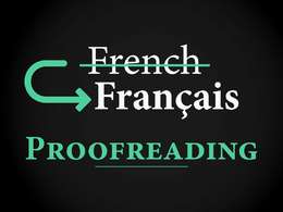 Proofread 1000 French words