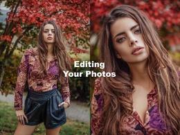 Do smooth skin on your portrait, photo retouching (3photo)