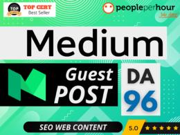 ★ Write & Publish a HIGH QUALITY blog on MEDIUM + BACKLINK ★