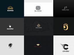 Create modern minimalist and luxury logo