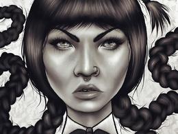 Draw Stylized Digital Portraits