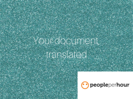 Translate any document up to 50000 words