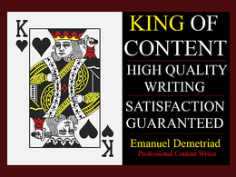 Write 500 words of PREMIUM and ORIGINAL content!