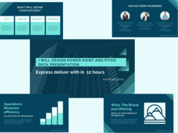 Design your powerpoint and pitch deck presentation