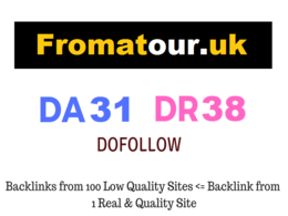 Guest Post on UK Website - Fromatour.uk