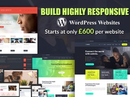 Design & Develop Website (Mobile & SEO Friendly)