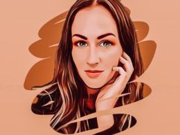 Turn your photo into a cartoon-like headshot / profile image