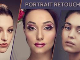 Retouch your portrait photos
