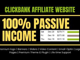 Create Clickbank Affiliate Site For Passive Income