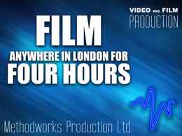 Film anywhere in London for four hours