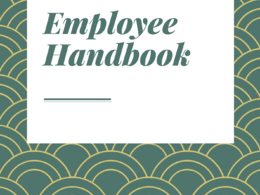 Provide you with an employee handbook template