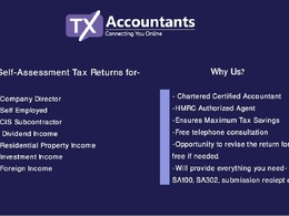 TX Accountants Ltd's header