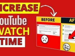 Promote to get you 1000 Watch Hours For Your Youtube Channel
