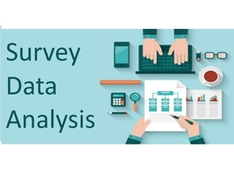 Analyse a data set and present the results