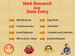 Do targeted b2b lead generation and web research